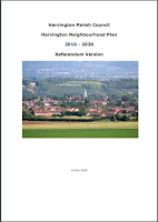 Cover of Harvington Neighbourhood Plan