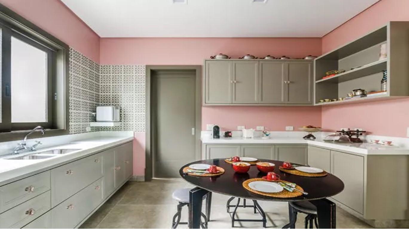 Tpm B Sica Para Se Inspirar Cozinhas  ~ Cozinha Cinza Com Vermelho