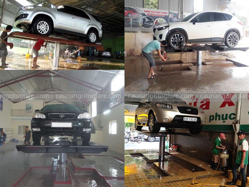 cách sử dụng cầu nâng 1 trụ, cách sử dụng cầu nâng trụ rửa xe, cách sử dụng cầu 1 trụ rửa xe sử dụng cầu rửa xe đúng cách