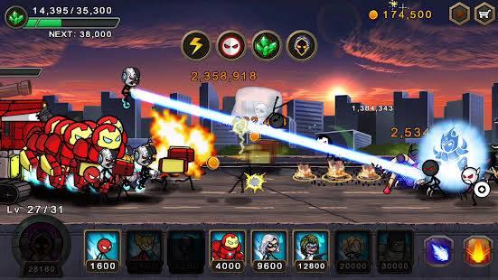 Hero wars mod APK gameplay