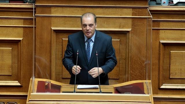Ερώτηση Βελόπουλου στη βουλή για την ένταξη έργων ύδρευσης από την Περ. Πελοποννήσου στο Εθνικό Επιχειρησιακό Σχέδιο