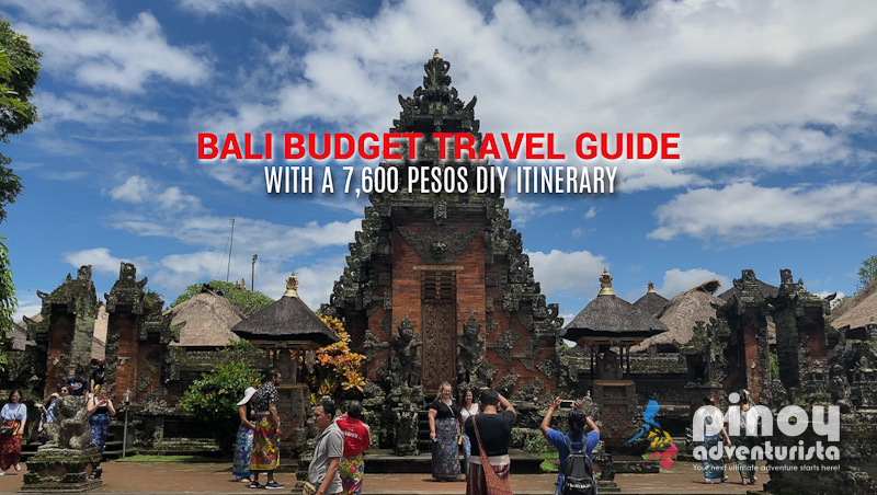 Bali Travel Guide 2019 Blog With A 7 600 Diy Itinerary