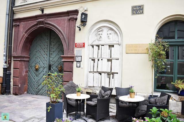 Calle Kanonicza, Cracovia