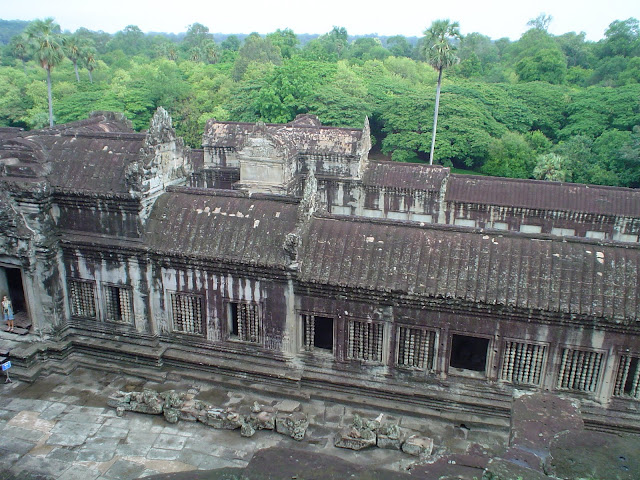 Jungle Temple in Angkor Wat - Cambodia