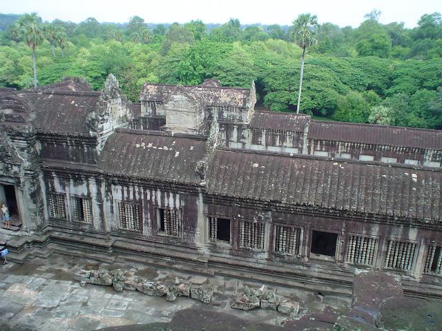 Jungle Temple d'Angkor Vat - Cambodge