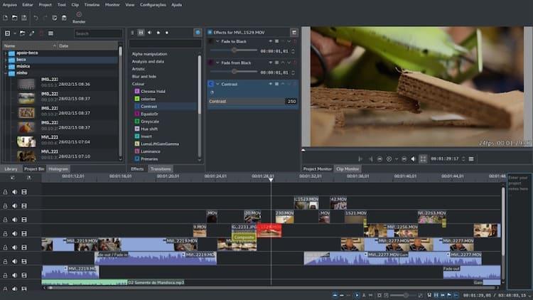 KdenLive (Editor de Vídeo)