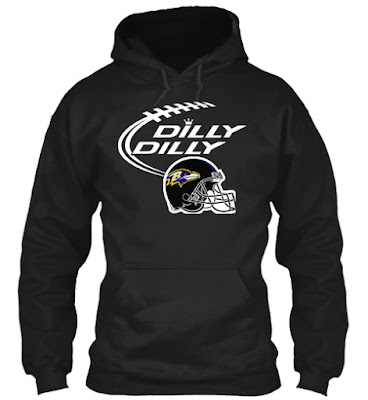Baltimore Ravens Dilly Dilly T Shirt, Hoodie and Mug