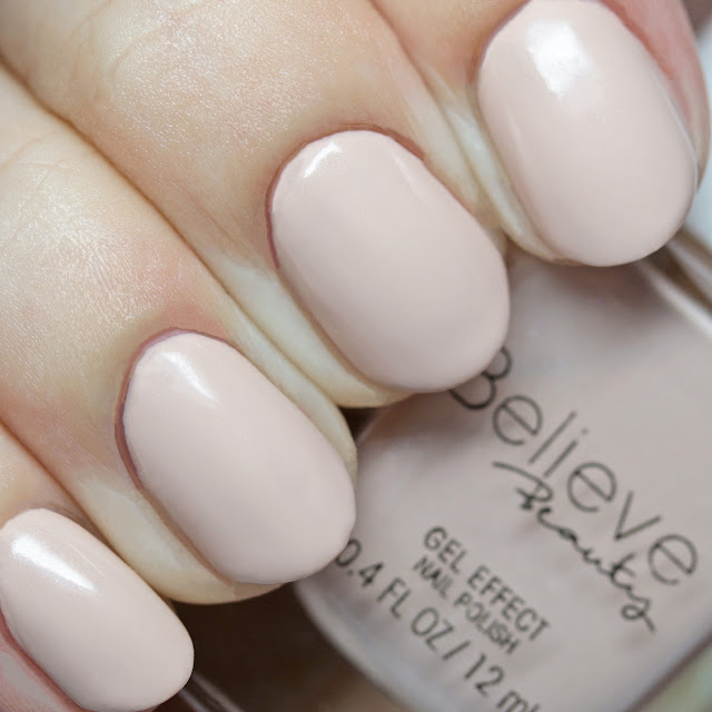 Believe Beauty Gel Effect Nail Polish Girl Talk