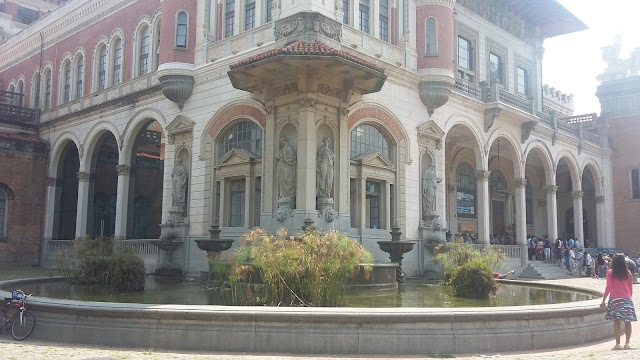 Fachada do Museu Catavento - São Paulo