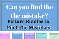 Picture Riddles to Find The Mistakes