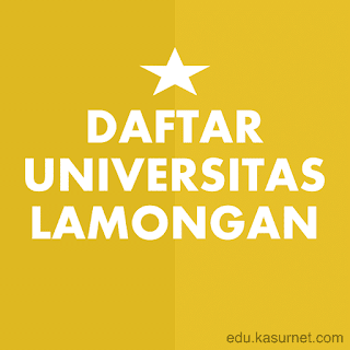 Daftar Universitas di Lamongan Jawa Timur
