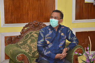 Support Kinerja Aparatur, Wakil Walikota Bima Kunjungi Bappeda dan Inspektorat