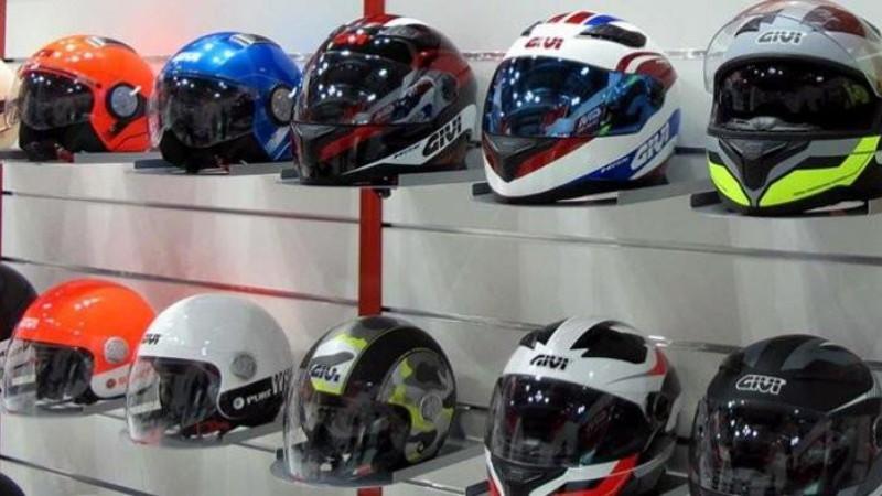 gambar cara ukuran helm bawaan Honda Yamaha Suzuki Kawasaki
