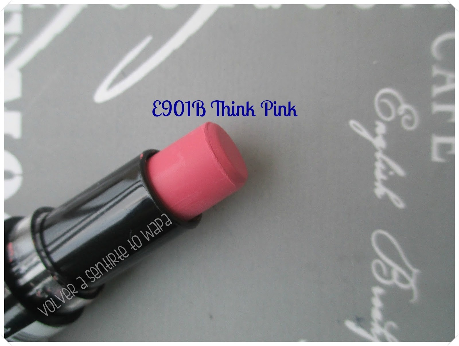 Labiales MegaLast Lip Color de Wet n' Wild - E901B Think Pink