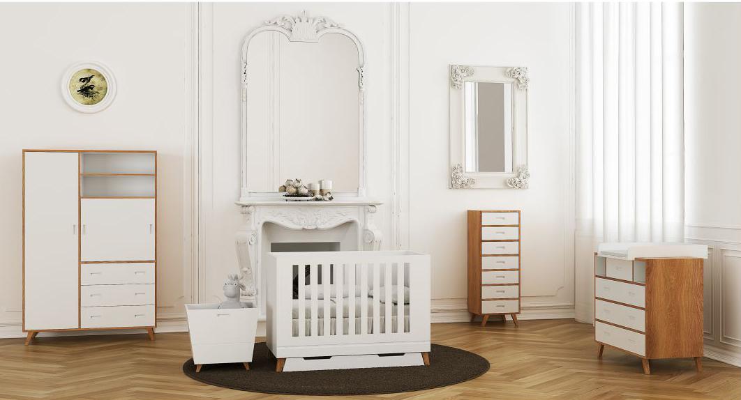 Tempat Tidur Box Bayi Desain Eropa Aman Pilihan Ibu Hamil, Claire et Agnés & Luniklo