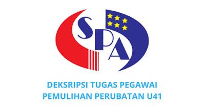 Gaji, Kelayakan & Tugas Pegawai Pemulihan Perubatan Gred U41