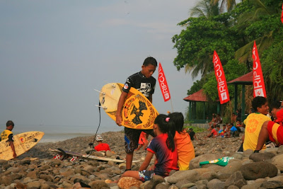 Surfing Lesson in Bali INDONESIA