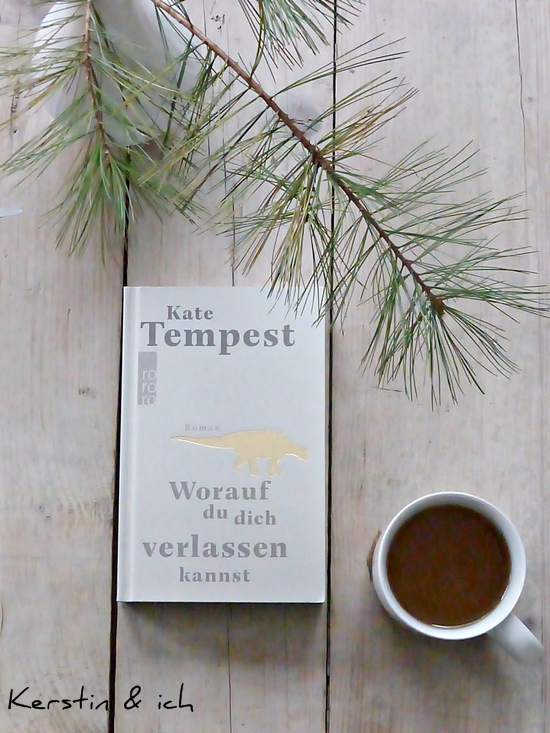 Flatlay Buchcover Kate Tempest