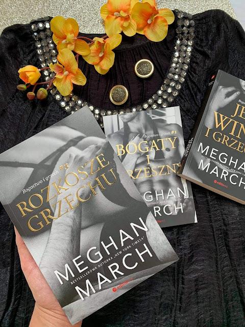 """""""Rozkosze grzechu"""" Meghan March"""