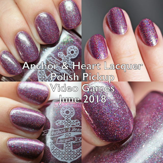 Anchor & Heart Lacquer Polish Pickup Video Games June 2018