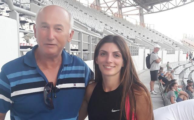Συγχαρητήρια Γιάννη Μπόλλα στην Κωνσταντίνα Γιαννοπούλου