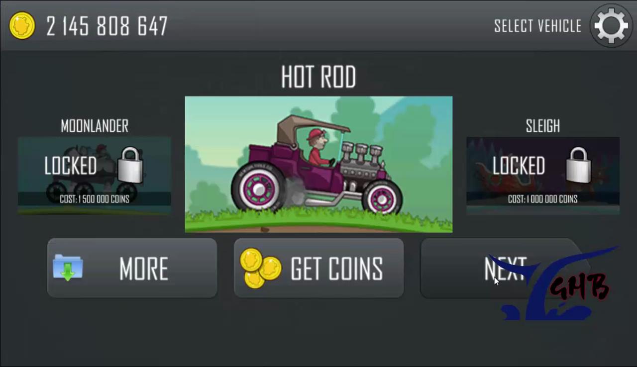 HILL CLIMB RACING 1 30 7(Unlimited money & Fuel Hack)(NON