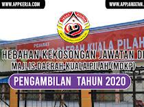 Jawatan Kosong di Majlis Daerah Kuala Pilah (MDKP)