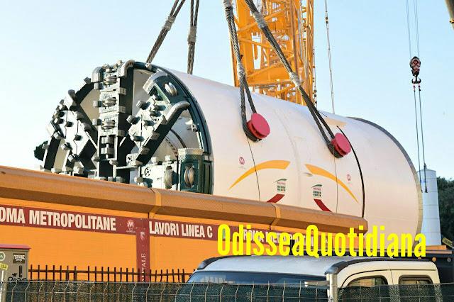 Metro C: prolungamento San Giovanni-Colosseo - linea chiusa per sei fine settimana