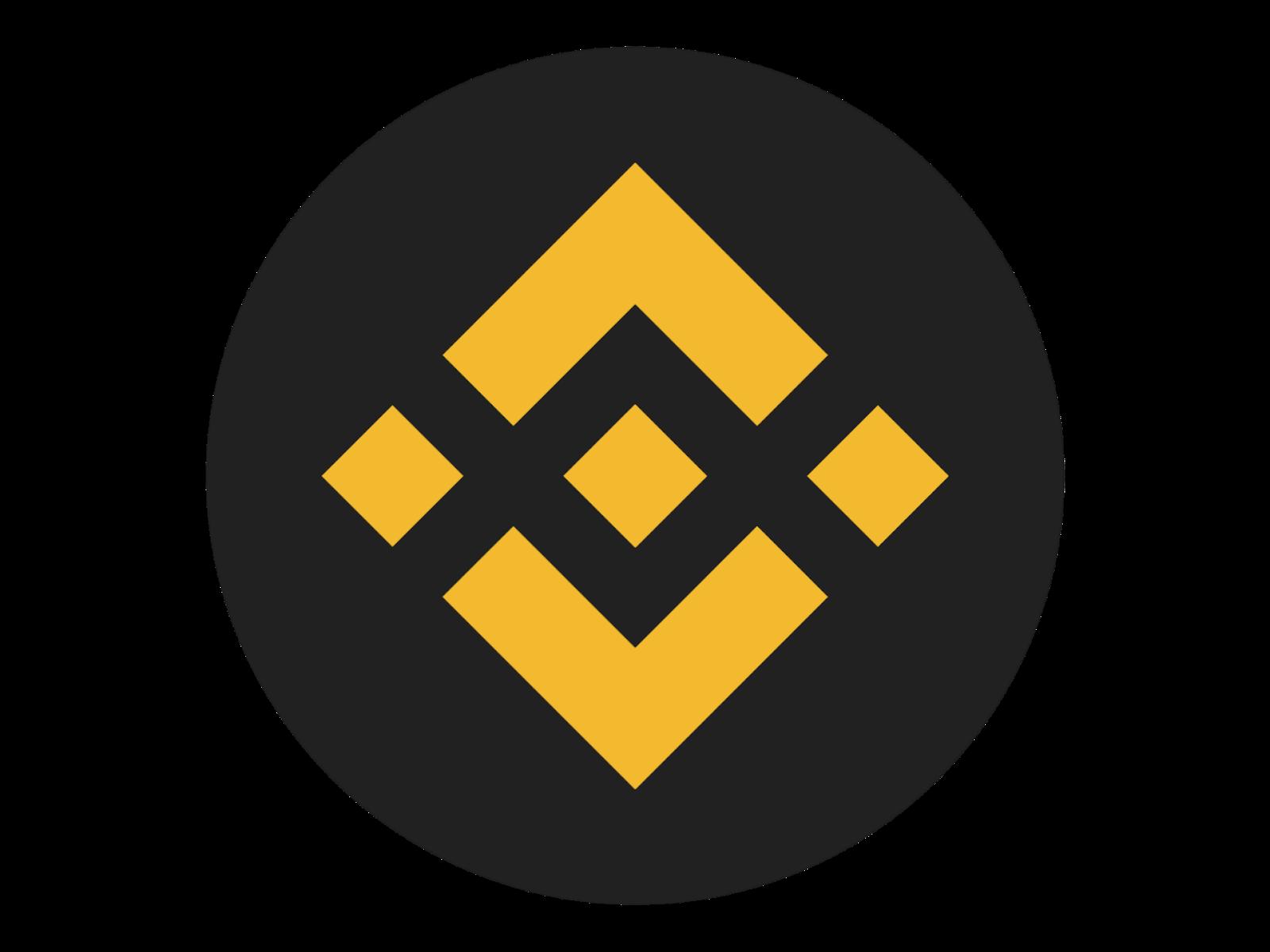Logo Binnace Coin (BNB) Format PNG