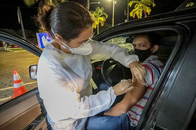 Prefeitura de Porto Velho realiza mais um drive-thru noturno de vacinação nesta sexta-feira