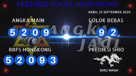 Prediksi Togel Angka Jitu Hongkong HK Rabu 23 September 2020
