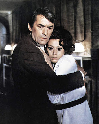 Arabesque 1966 Gregory Peck Sophia Loren Image 2