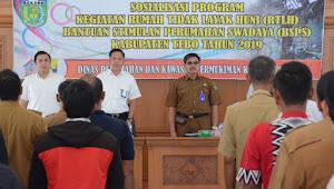 BSPS Kabupaten Tebo Bertambah Menjadi 1.060 Unit di 2019