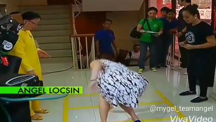 Angel Locsin Gamely Played Piko While Still Wearing Her High Heels!
