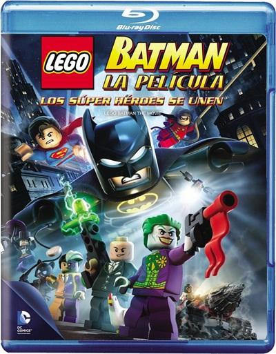 Lego Batman la Película El Regreso de los Superheroes 720p HD Español Latino Dual