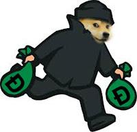 Hacker hack trộm Dogecoin