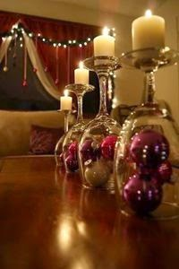 baubles wine glass