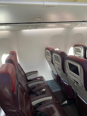 cara semak no seat kapal terbang, takut tiada tingkap