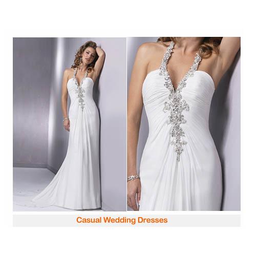 Wedding Ring casual wedding dress