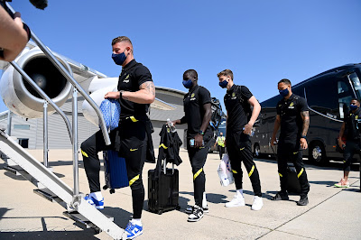PICTURES: First day of Chelsea training camp in Dublin