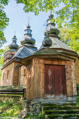 Cerkiew w Hańczowej od strony prezbiterium