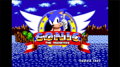 Sonic the Hedgehog screenshot from Megadrive version.