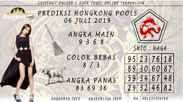 PREDIKSI HONGKONG POOLS 06 JULI 2019