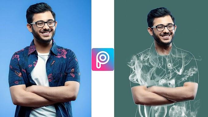 Individual Smoke Effect Editing Background & PNG | Individual Smoke Photo Editing in PicsArt