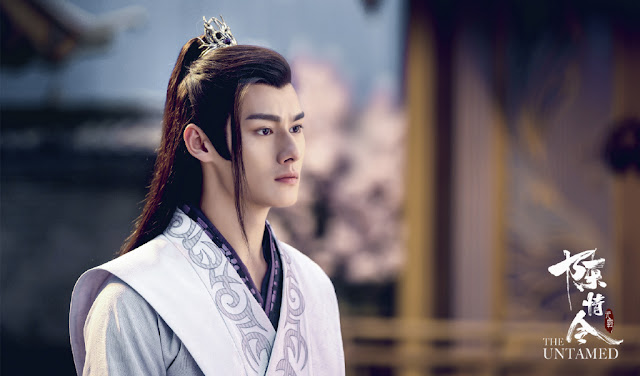 the untamed cast wang zuocheng jiang cheng