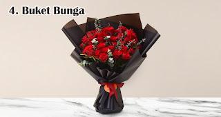 Buket Bunga merupakan salah satu ide usaha yang laku keras menjelang valentine