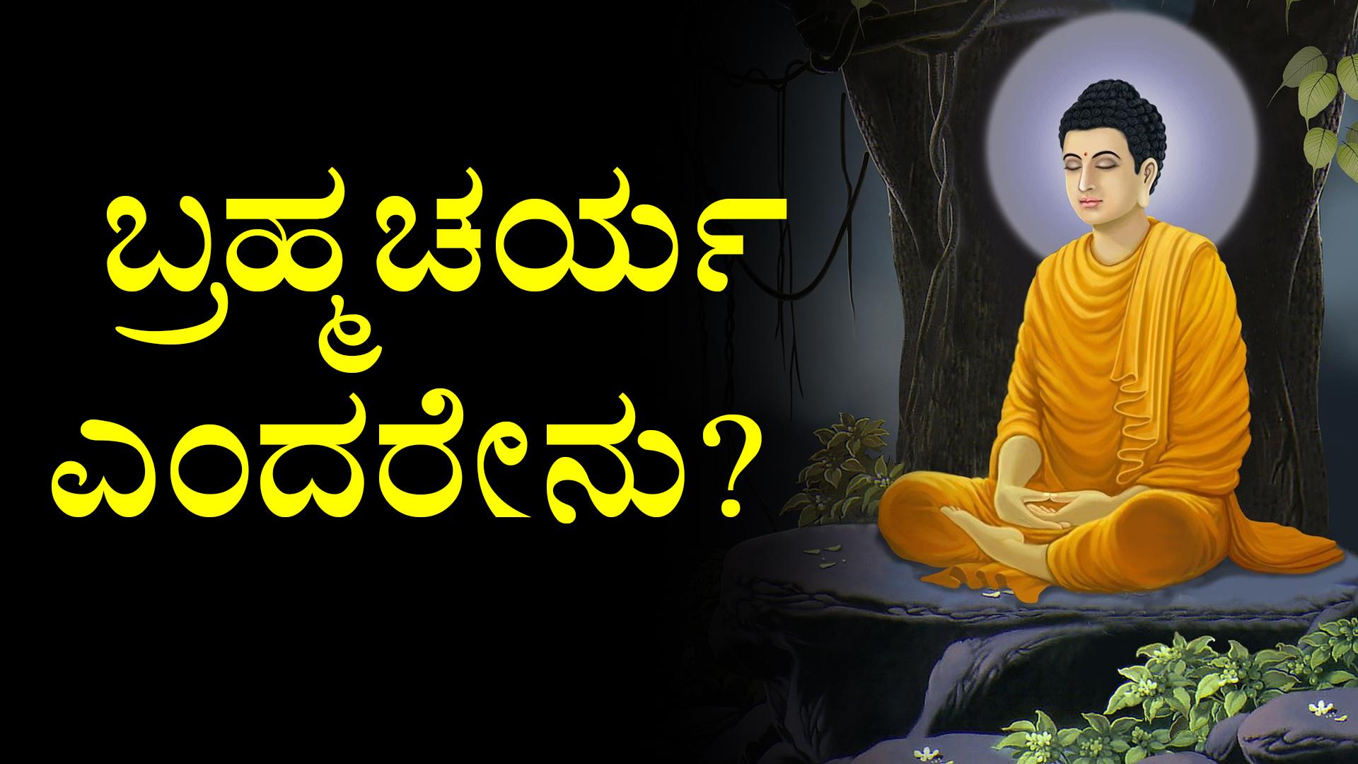 ಬ್ರಹ್ಮಚರ್ಯ ಎಂದರೇನು? | What is Brahmacharya Celibacy in Kannada