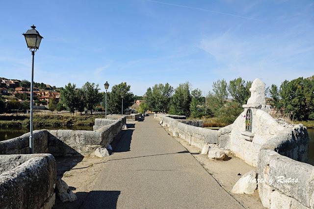 Puente de Simancas sobre el Pisuerga