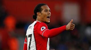Liverpool Resmi Rekrut Virgil van Dijk dari Southampton