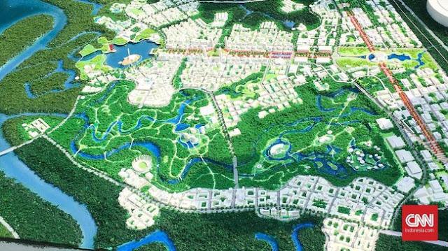 Ada Corona, Bappenas Lelang Master Plan Ibu Kota Baru Rp85 M